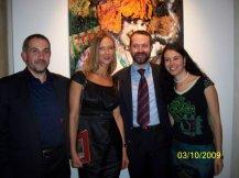 Con Giacomo Maria Prati e Ludmilla Radchenko a Palazzo Guidobono, Tortona, 2009