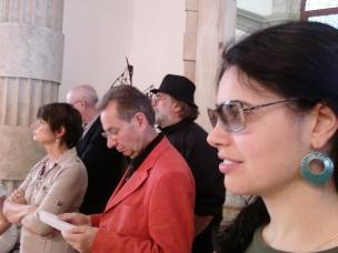 Con Catherine Millet e Jean-Hubert Martin alla Biennale di Venezia, 2009