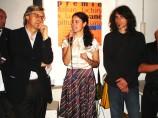 Con Vittorio Sgarbi e Desiderio al Premio IF, 2008