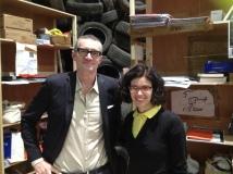 Con Rita Deiola, Thomas Hirshhorn, Federica Falancia al Palais de Tokyo, Flamme Eternelle, 2014