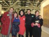Con Nicola Vinci, Norma e Vincenzo Marsiglia, Cristina Bersan ad Art First, Bologna, 2012