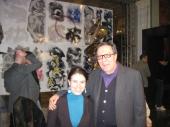 Con Nino Mustica alla Triennale di Milano, 2011