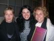 Con Emilia Faro e Simona Bramati alla Fabbrica Borroni di Bollate (Mi), 2007