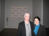 Con Tony Oursler al PAC di Milano, 2011