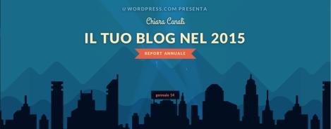 Il mio blog 2015
