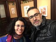 Con Giuseppe Ciracì, PARMA 360, 2019