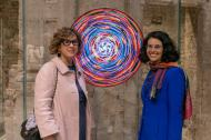 Con Camilla Mineo, PARMA 360 2019