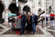 Con Ivan Quaroni, Christian Balzano, Roberto Milani, StreetScape, Como, 2019