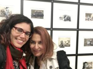 Con Elena Francia Gabriele, Southern|Blain, Londra, 2017