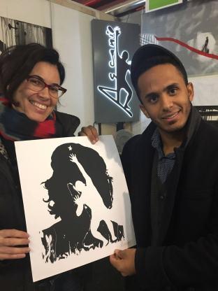 Con Ascanio Cuba, 2017