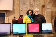 Con Davide Coltro, Chiesa di San Quirino, 2018